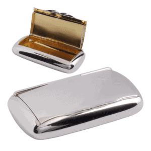 Oval snusdosa i äkta silver