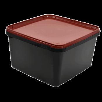 3 liters burk lämplig för att tillverka snus i eller förvara det färdiga snuset i