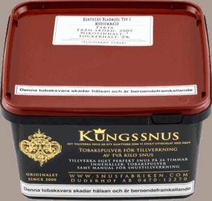 Kentucky tobak bladmjöl för snustillverkning