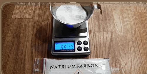 Natriumkarbonat till snus