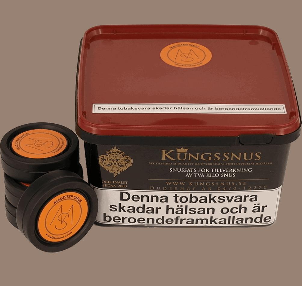 Magister snus för ett tillverka eget snus