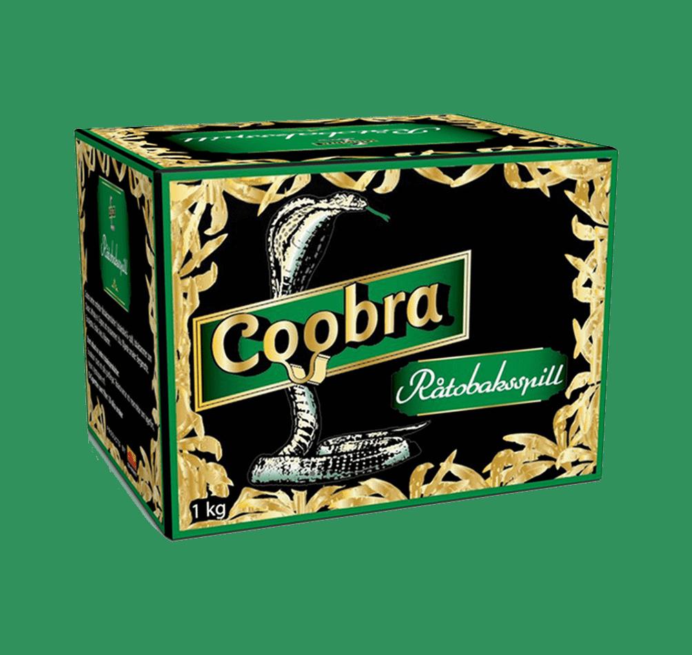 Beställ en Coobra Grön Snussats baserad på tobaksspill