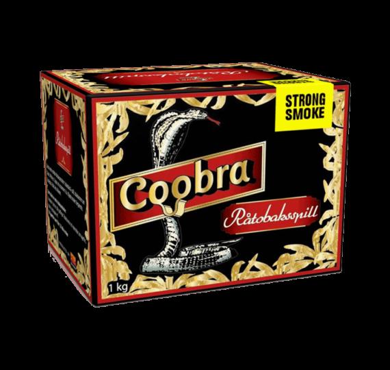 Coobra Röd Stark Smoke Standardmald snussats.