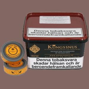 Kungssnus Snussats som är extra grovmald. Beställ snussats från Snusfabriken.com