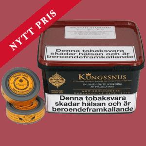 Kungssnus Standard Extra Grovmald Snussats
