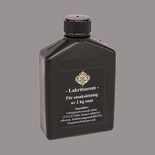 Kungssnus Lakrits arom för snus