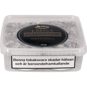 Köp en LM365 Portionssnus Naturell Snussats från Kungssnus webbutik