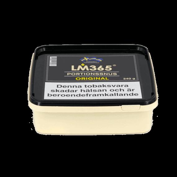 LM365 Portionssnus Mint Snussats 240gram - Beställ från Kungssnus webbutik