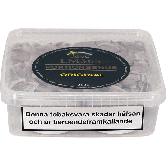 Köp en LM365 Portionssnus Original Snussats från Kungssnus webbutik