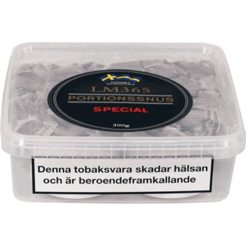 Köp en LM365 Portionssnus Special Snussats från Kungssnus webbutik