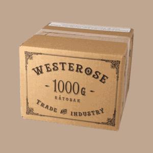 En Westerose snussats innehåller grovmald tobak och är ändå lättbakad. Ger ungefär 2,5kilo färdigt snus. Beställ direkt från Snusfabriken.com