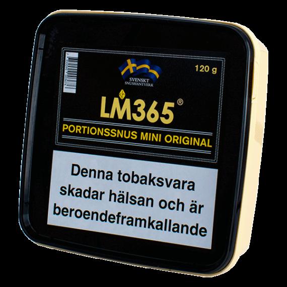 LM365 Original Mini Portionssnus 120 gram