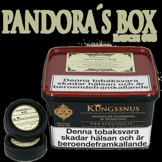 Kungssnus Pandoras Box Batch 003 - Beställ snussatsen från Kungssnus på Snusfabriken.com