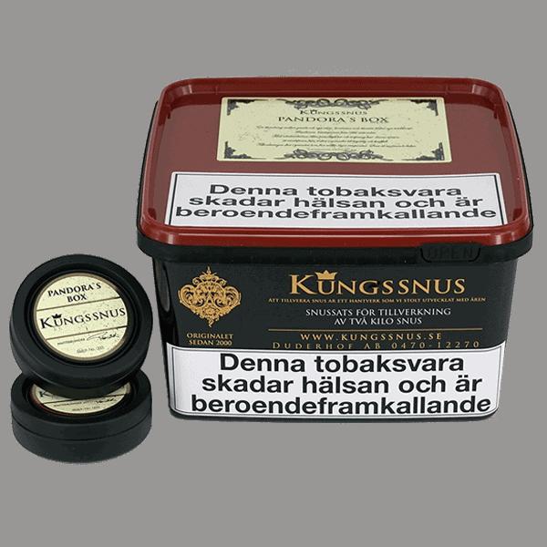 Kungssnus Pandoras Box Batch 002 - Beställ snussatsen från Kungssnus på Snusfabriken.com