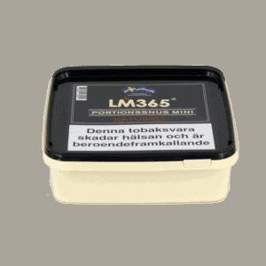 LM365 Mini Portionssnus Naturell Snussats 120gram - Beställ från Kungssnus webbutik