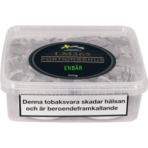 Köp en LM365 Portionssnus Enbär Snussats från Kungssnus webbutik