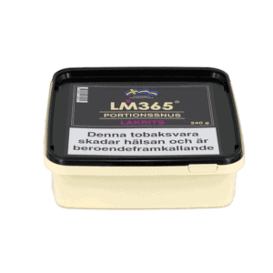 LM365 Portionssnus Lakrits Snussats 240gram - Beställ från Kungssnus webbutik