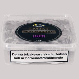 Köp en LM365 Portionssnus Lakrits Snussats från Kungssnus webbutik