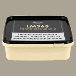 Köp en LM365 Portionssnus Miniprilla Naturell 120gram Snussats från Kungssnus webbutik