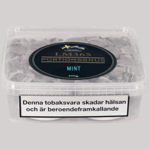 Köp en LM365 Portionssnus Mint Snussats från Kungssnus webbutik