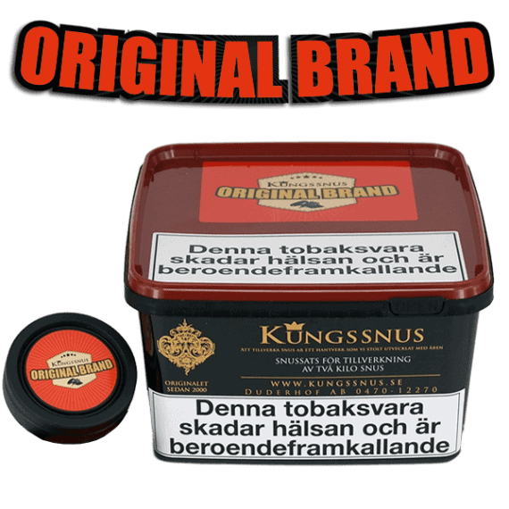 Original Brand från Kungssnus