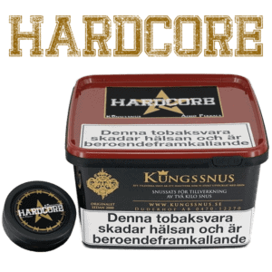 Nikotinstarkaste Snussatsen Hardcore - Beställ snussatsen från Kungssnus på Snusfabriken.com