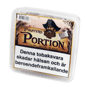 Coobra Piratens Portion från Kungssnus