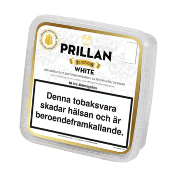 Prillan White Portion från Kungssnus