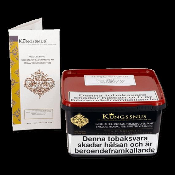 Blanda eget snus av olika tobakssorter från Kungssnus - Beställ från Snusfabriken.com