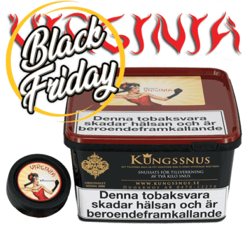 Snussats Virginia från Kungssnus med en väl balanseraserad andel virginiatobak - Beställ från Snusfabriken.com