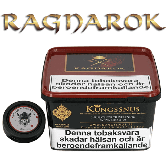 Billys Ragnarok Snussatsen- Snuset med mycket smak. Beställ från Snusfabriken.com