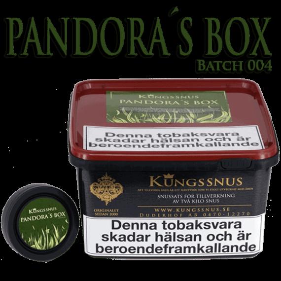 Pandoras Box Batch 004 från Kungssnus