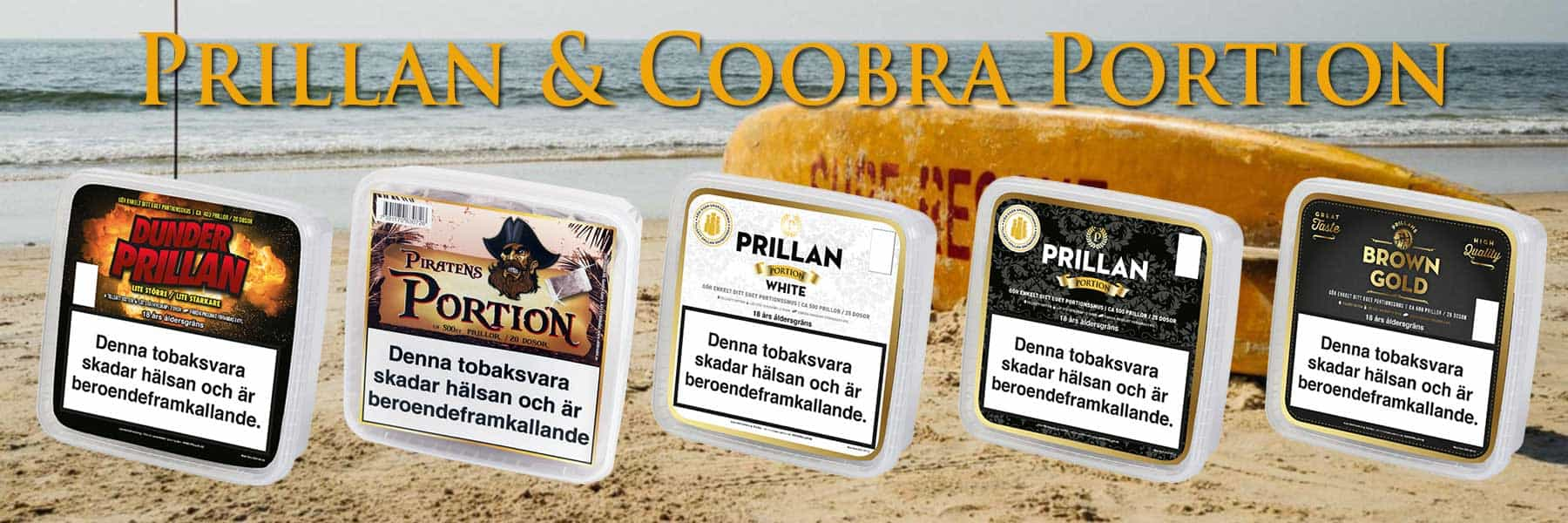 Prillan coobra portion