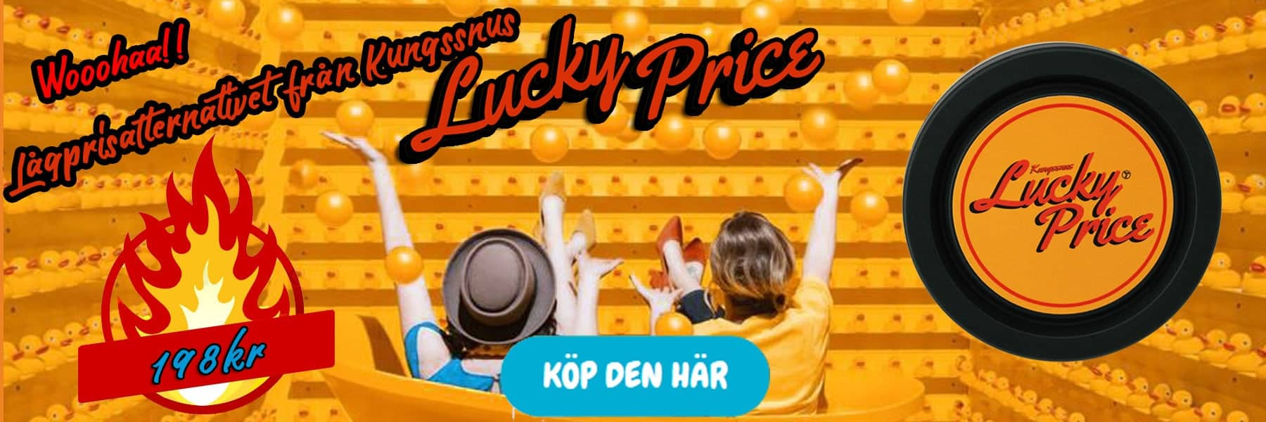 Lucky Price Snussatsen