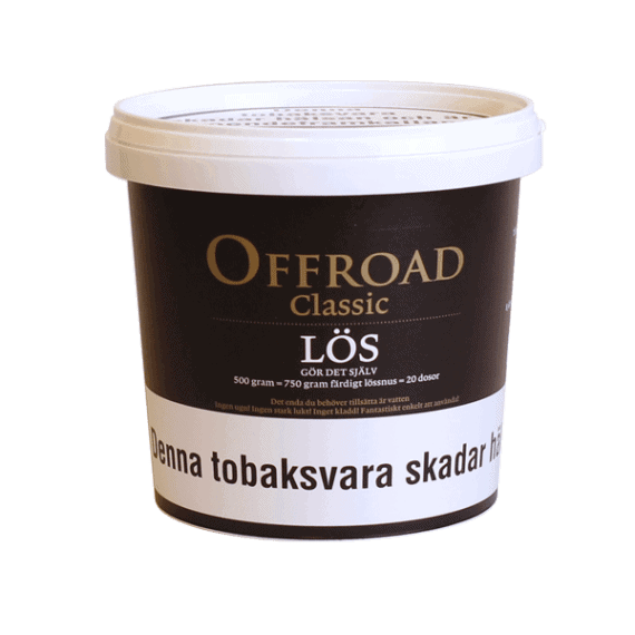 Offroad Classic Lös 500gram snussats från V2 - Beställ från Snusfabriken.com