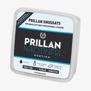 Prillan Tobaksfri Portionssnus - Beställ från Snusfabriken.com