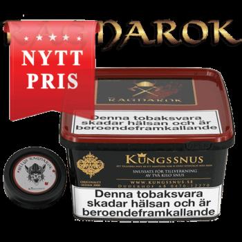 Ragnarok Snussatsen- Snuset med mycket smak. Beställ från Snusfabriken.com