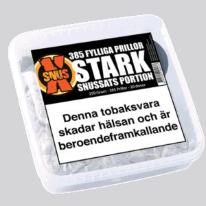SnusX Stark Portionssnus från Kungssnus