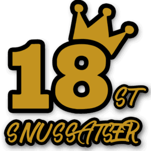 18pack snussatser från Kungssnus