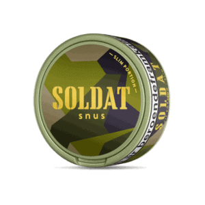 Kurbits Soldat Original Slim portion - Beställ från Snusfabriken.com