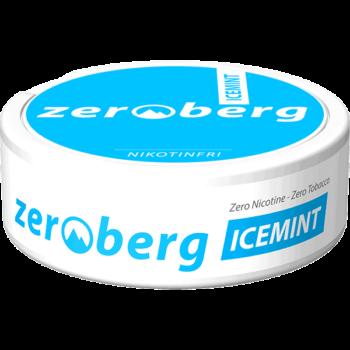 Zeroberg Icemint Nikotinfritt Portionssnus
