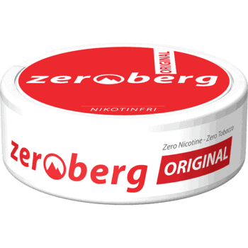 Zeroberg Original Nikotinfritt Portionssnus