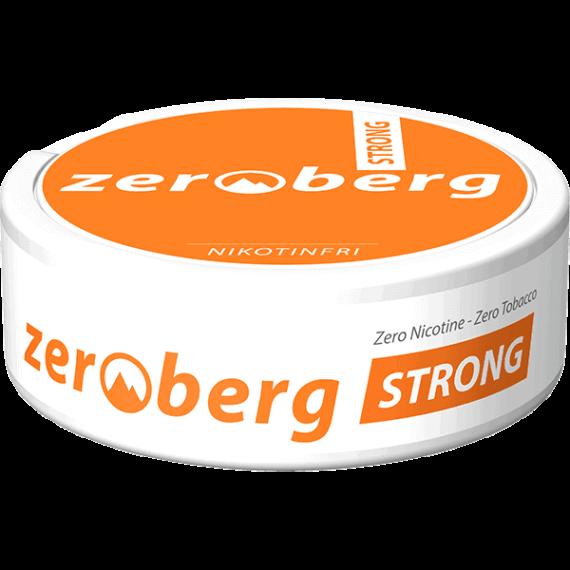 Zeroberg Strong Nikotinfritt Portionssnus