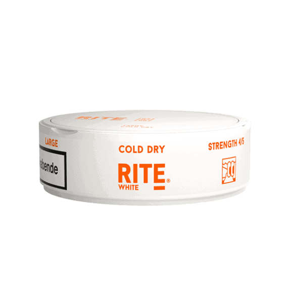 Rite Cold Dry White Portionssnus