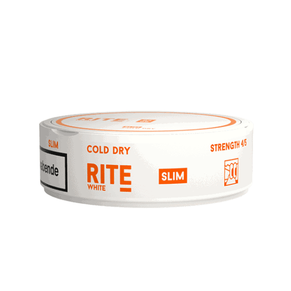 Rite Cold Dry Slim White Portionssnus