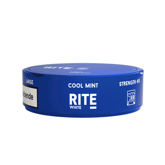 Rite Cool Mint White Portionssnus