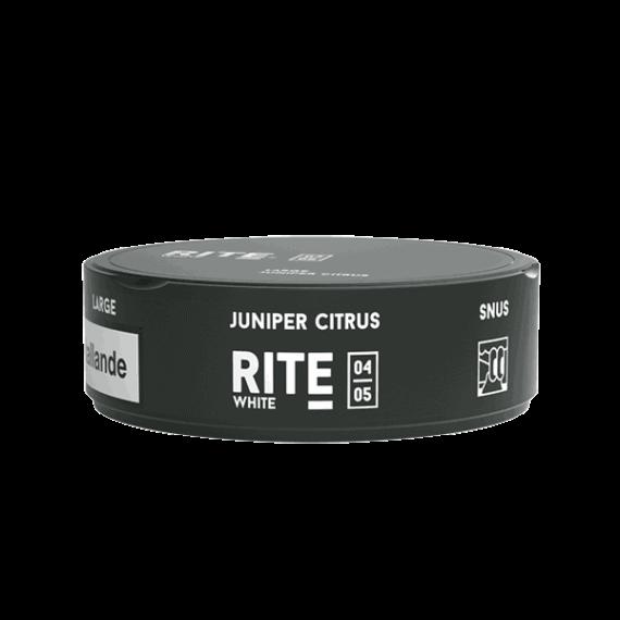 Rite Juniper Citrus White Portionssnus