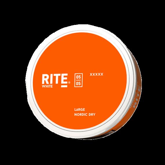 Rite Nordic Dry White Portionssnus