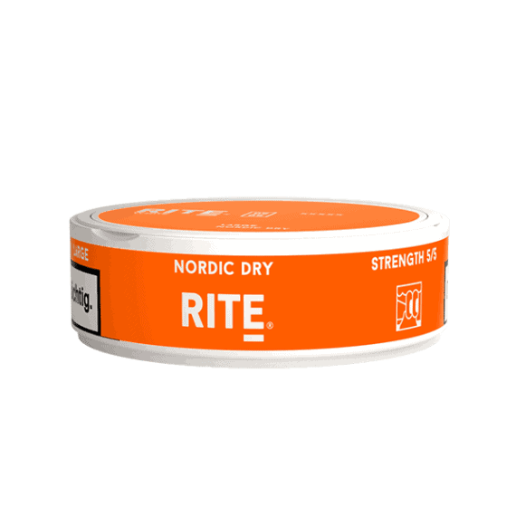 Rite Nordic Dry White Portionssnus