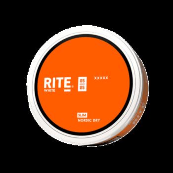 Rite Nordic Dry Slim White Portionssnus